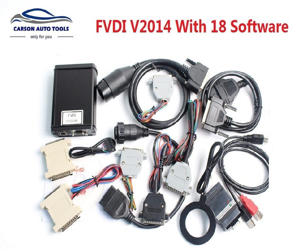 2018 Best quality FVDI V2014 ABRITES Commander FVDI 2014 Diagnostic Scanner Full set 18 software activated same as AVDI
