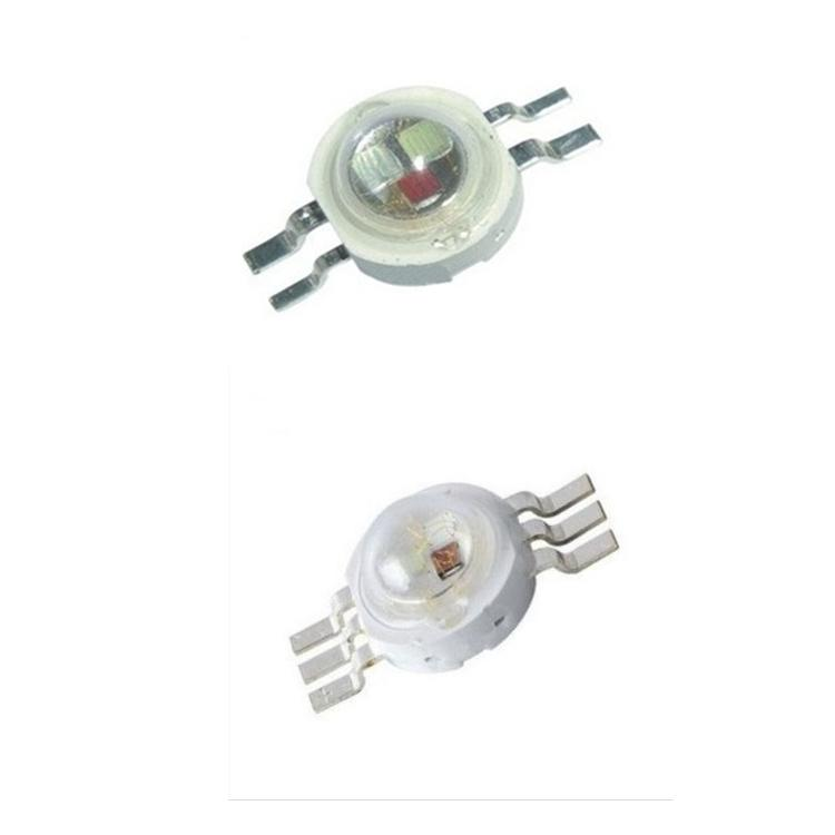 High Power Led Chip 3W RGB 4 pinos brilhante intensidade SMD COB emissor de luz Component Diode 3 W lâmpada Beads DIY Iluminação