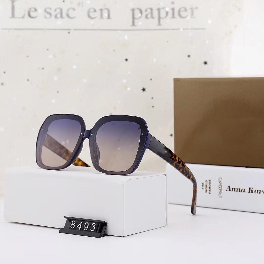 Бренд солнцезащитные очки 2020 Новая Женская мода квадратные поляризованные солнцезащитные очки цвет Алмаз аксессуары модель 8493