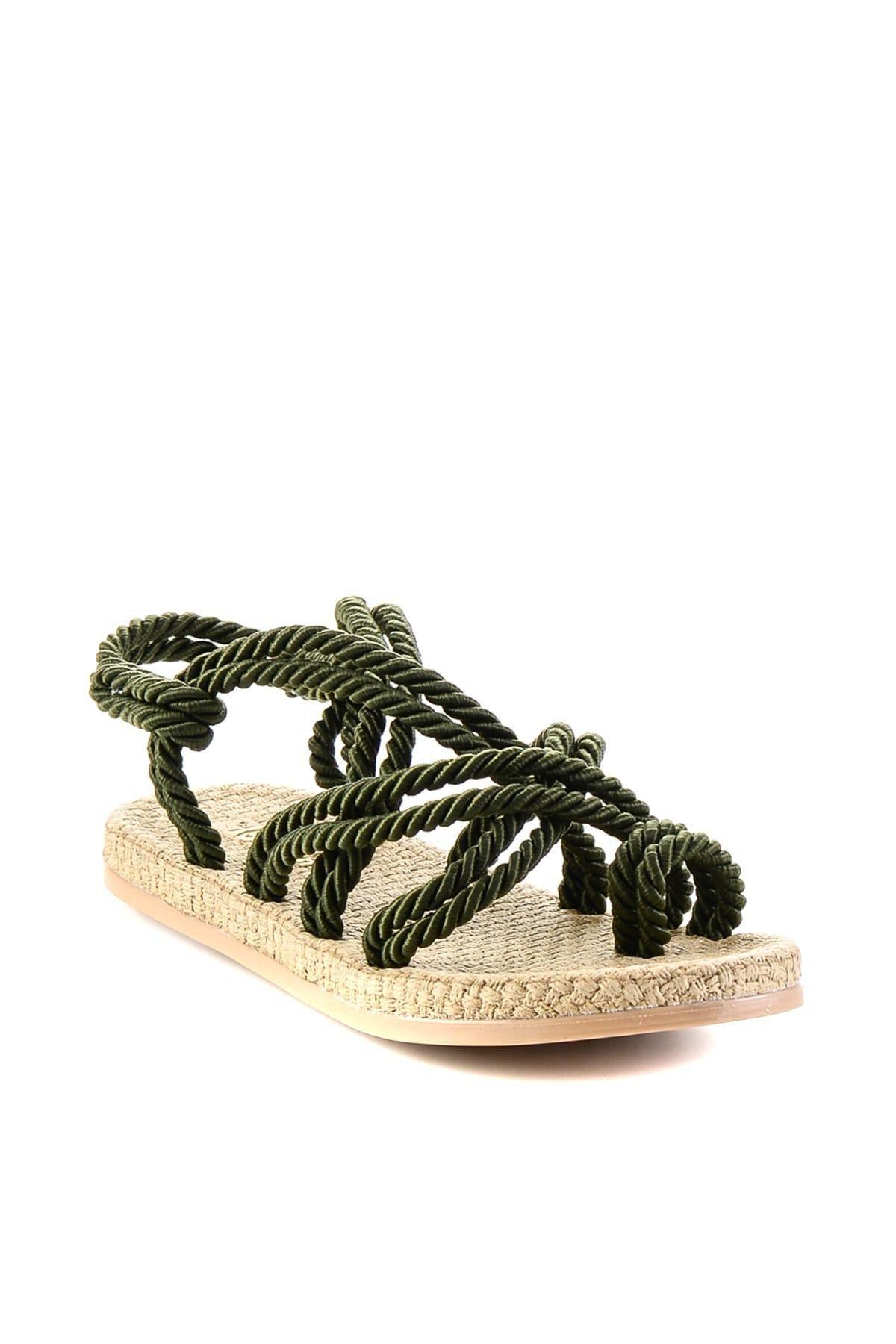 Bambi Khaki Women 'S Sandals H05780101