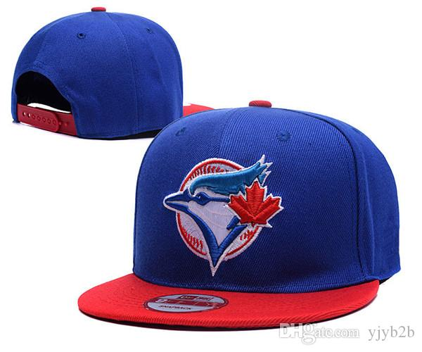 2010 New Wholesale Cheap Price Men's Toronto Royal Blue Snapback Hats Grey Color Character Red Leaf Logo Embroidery Flat Adjustable Caps