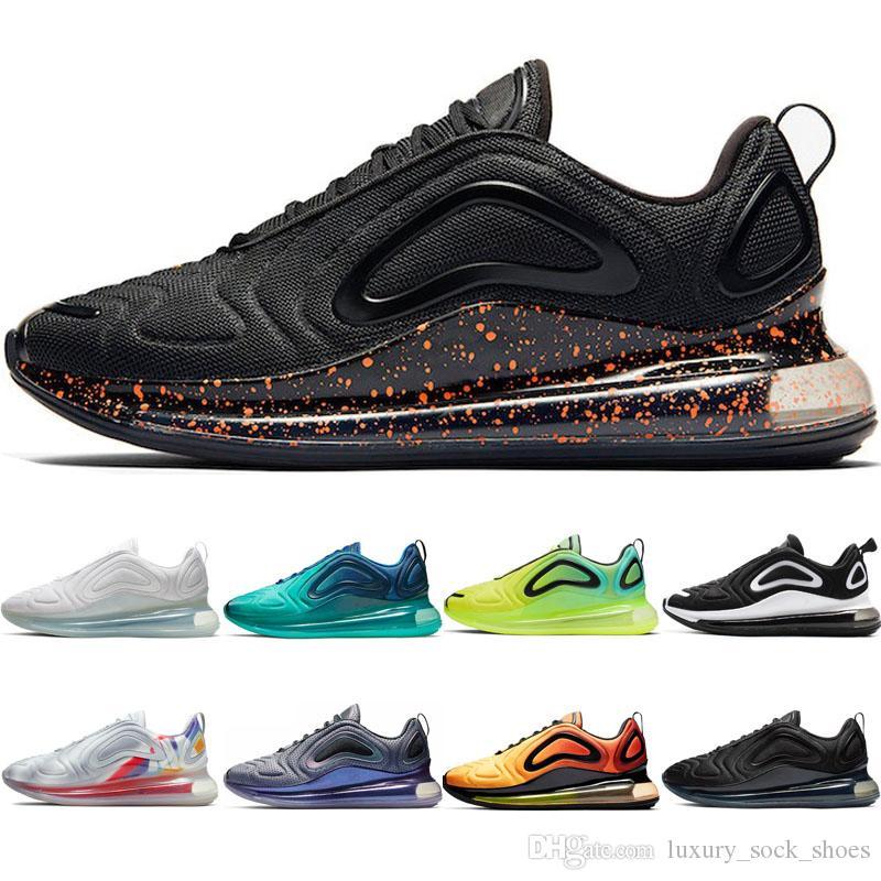 Compre Nike Air Max Airmax 720 Zapatillas Para Correr Moteadas Negras Para  Hombre OG Triple Blanco Negro Amanecer Mar Bosque Hombre Deportes Al Aire  ...