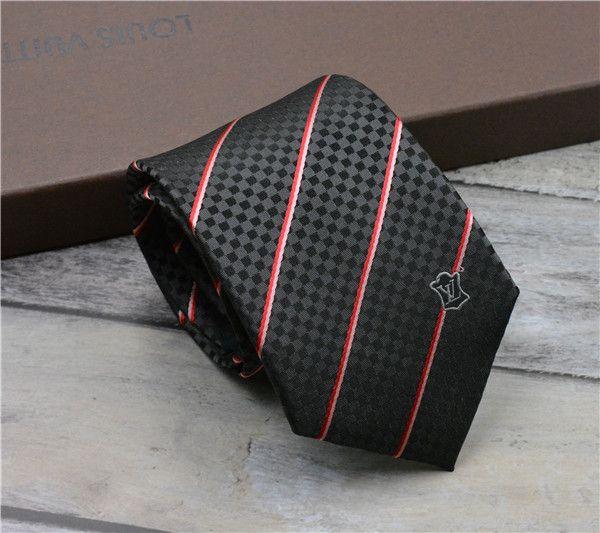 Wholesale luxury men's bow tie fashion yarn-dyed checked brand decorative silk tie wedding business high-end gift tie 8.0cm