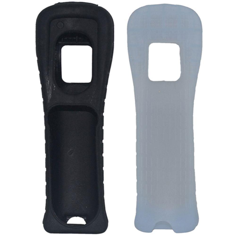 Wii Wii Remote Controller Kauçuk Joystick Gamepad Silikon Kapak için Yumuşak Kısa Silikon Kılıf Kapak Cilt Kabuk (hl)