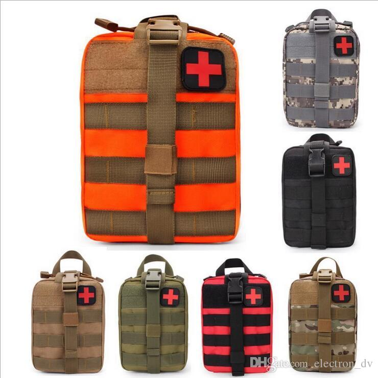 Upgraded version of outdoor sports emergency first aid Climbing lifesaving package tactical medical kit Wild survival kit