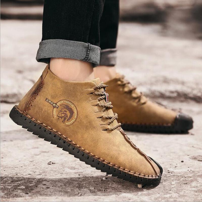 Neue Mens arbeiten beiläufige Schuhe des Geschäfts und Samtverdickung Kleidschuhe Turnschuhe Outdoor-Jogging Walking main152aa1 #