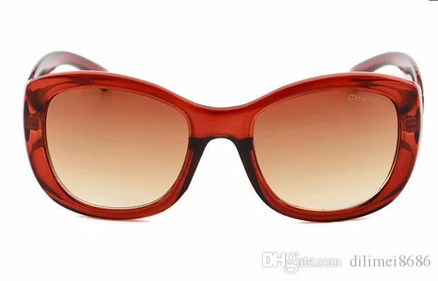 2019 Summe Luxo SUNGLASSE para mulheres o design dos óculos de sol populares Charme Moda óculos de sol de qualidade Top UV Óculos de Proteção Come With
