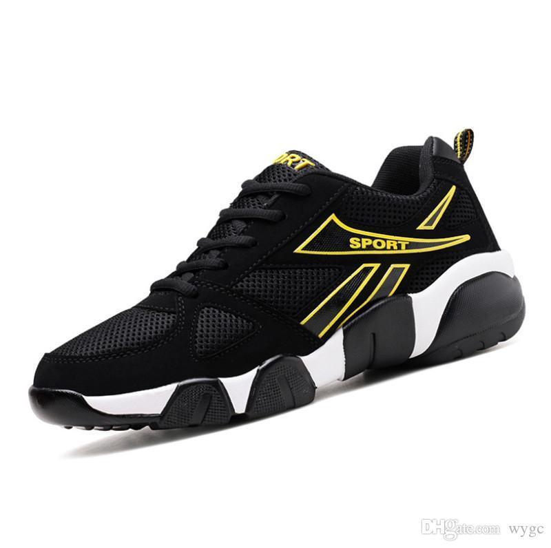 Высокое качество горячей продажи летающих диких молодежных дышащий моды дизайнер обуви кроссовки триколор кроссовки мужские легкие кроссовки