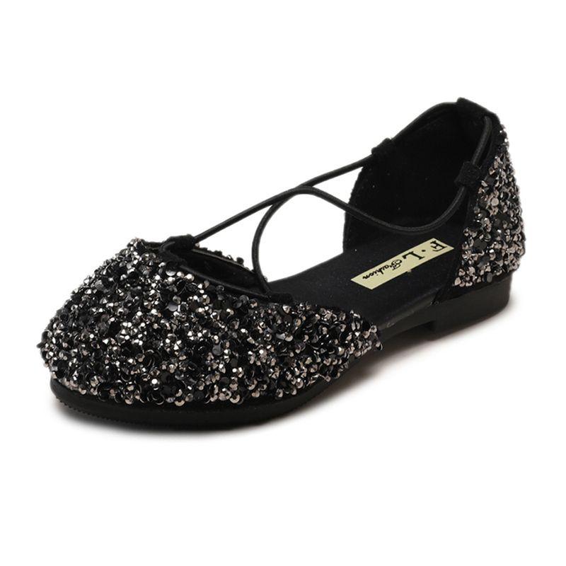 Summer Kids Sandals For Girls Glitter