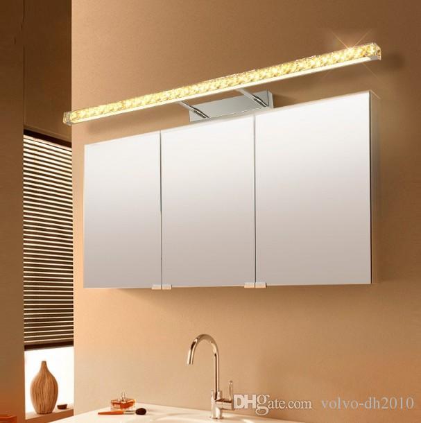 2019 Modern Bathroom Led Crystal Wall Lamp Mirror Cabinet Led Mirror Front Light Bedroom Vanity Lighting Telescopic Arm Warm Light Llfa From Volvo