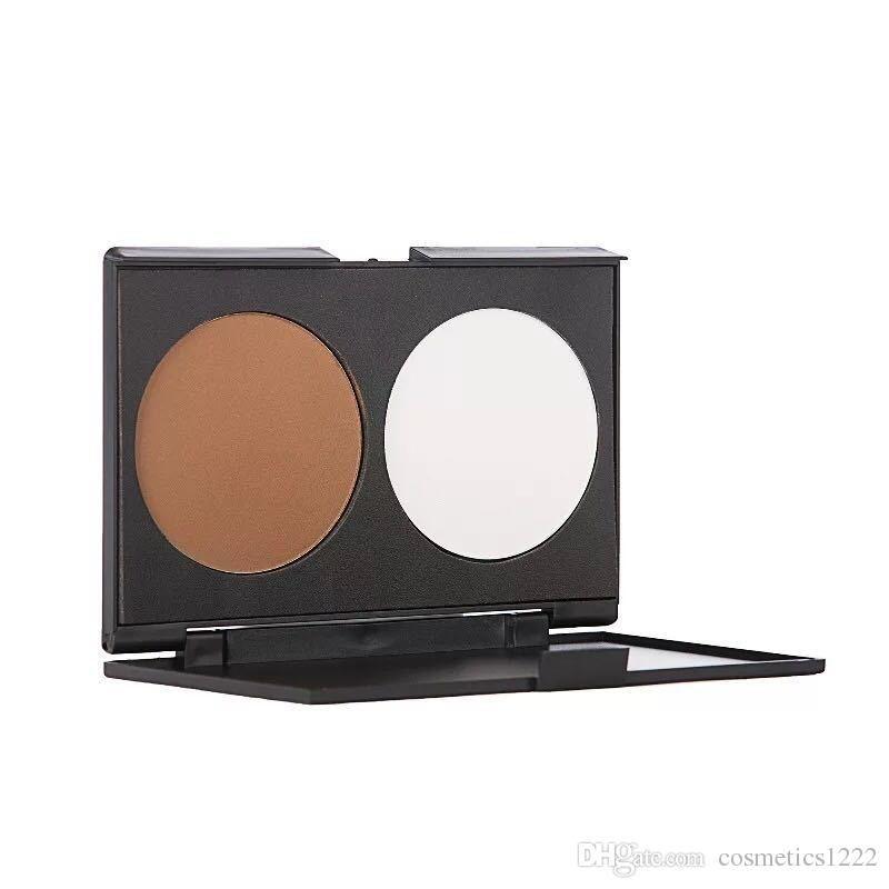 новая косметика макияж без бренда макияж 2 цвета контур лица минералы контур макияж Maquillage бронзатор пудра палитра