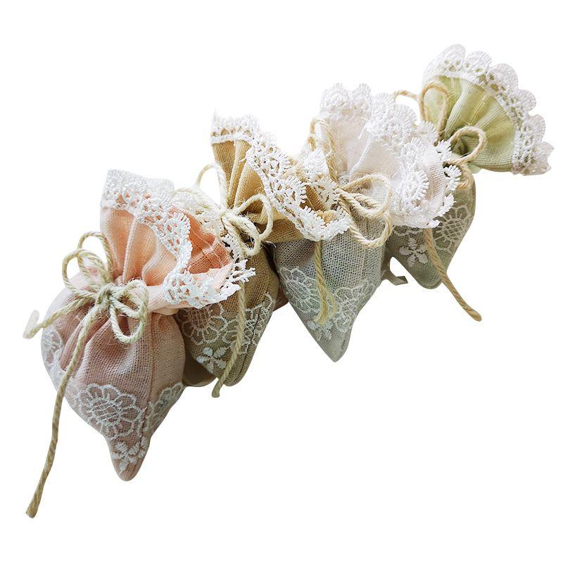 Мешок конфет сухой цветок Саше подарочный мешок аксессуары пакет маленький карман творческий ювелирные изделия духи косметика сухие цветы шоколад хранения