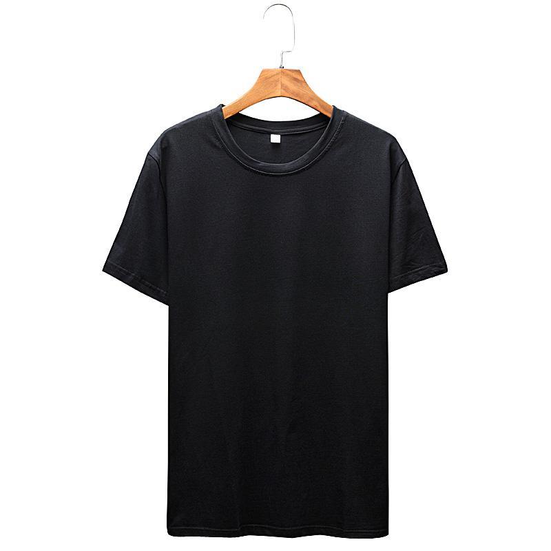 Slim Fit O-образный вырез мужчины с коротким рукавом хлопок тенниска вскользь Tee Tops Mens тенниски бренд одеждой 2020 тенниски Homme