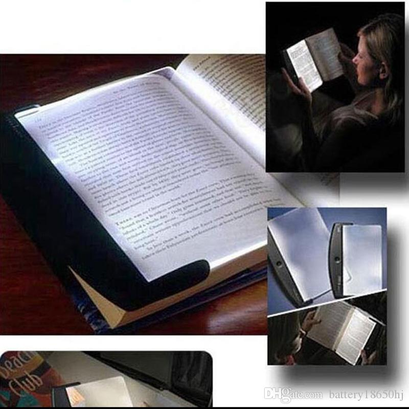 Magic Night Vision Light LED Reading Book Flat Panel Reading Lamp Book Light Magic Night Vision Light for Student gifts