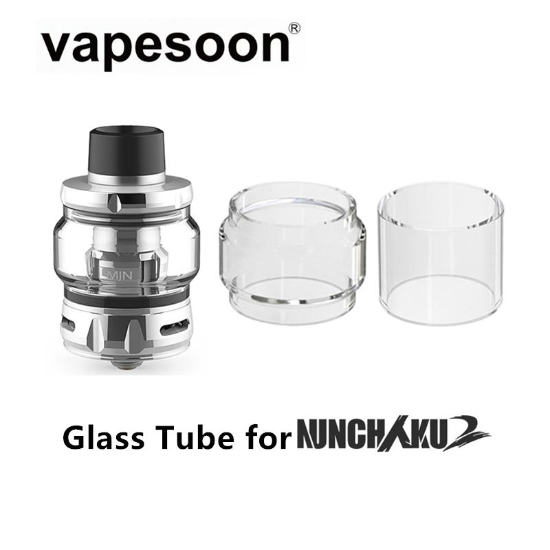 Ersatzquarzglasrohr für UWELL Nunchaku 2 Tank 5ml Atomizer Fit NUNCHAKU 2 Kit Mod