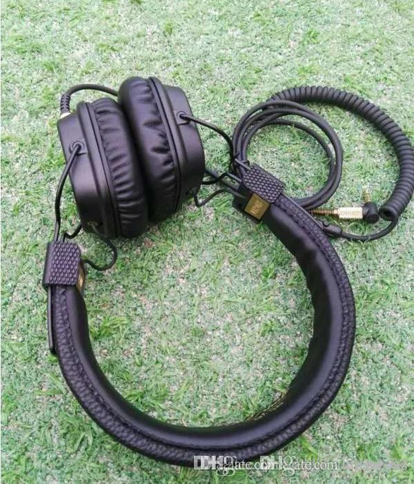 مارشال 2 سماعات مع هيئة التصنيع العسكري العميق باس DJ مرحبا فاي سماعة 3.55MM السلكية سماعة أزياء سماعة سيارة 005