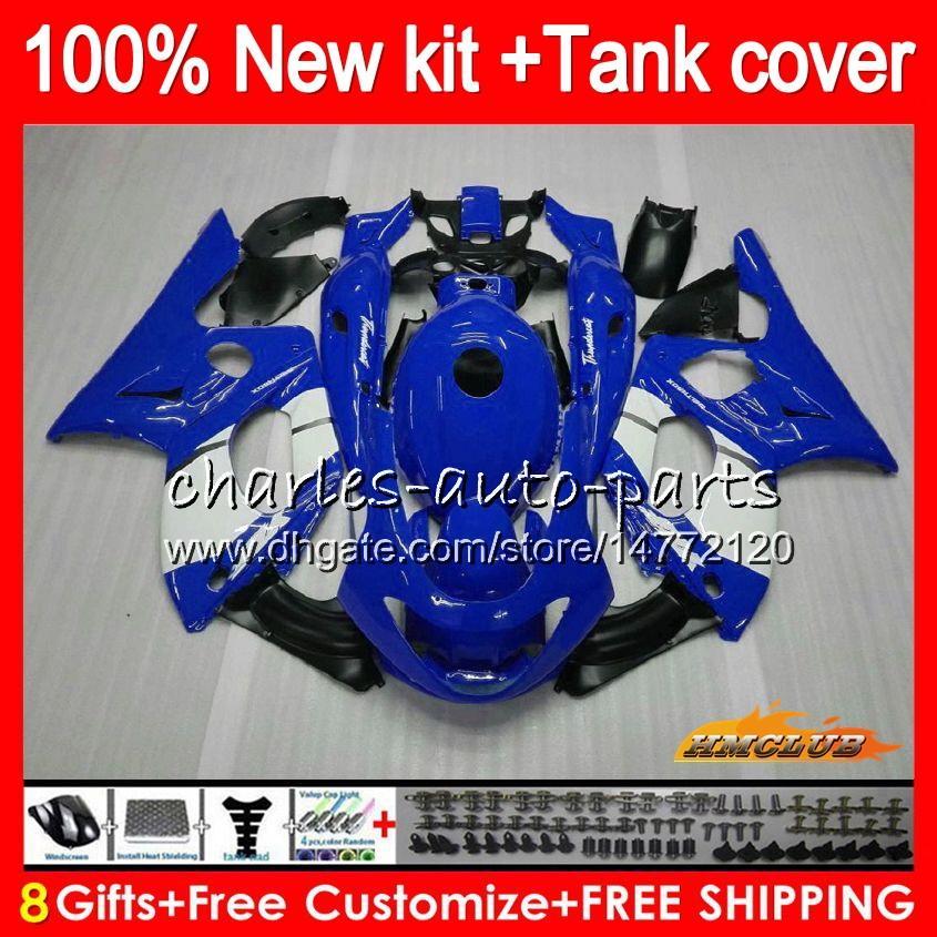 Thundercat für YAMAHA blau weiß neuen YZF 600 R CC 600cc 600R 72HC.19 YZF600R YZF600R 96 97 98 99 00 01 02 03 04 05 06 07 1996 2007 Fairings