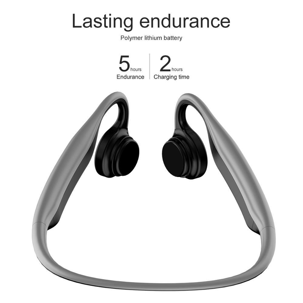 amazon top sell wireless Bone Conduction Headsets sport earphones Air Waterproof BT Earphones Bone Conduction Headphones with Mic for sell
