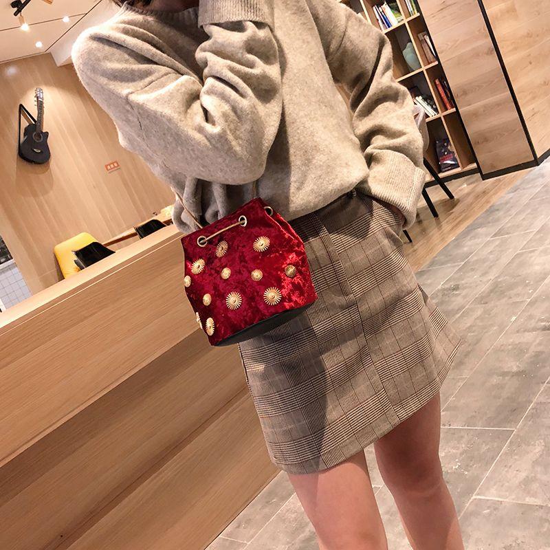 Sacs à main de luxe Designer épaule Velvet Messenger Bag chaîne Petit Sacs à bandoulière pour les femmes 2020 Bolsa Feminina MX200327