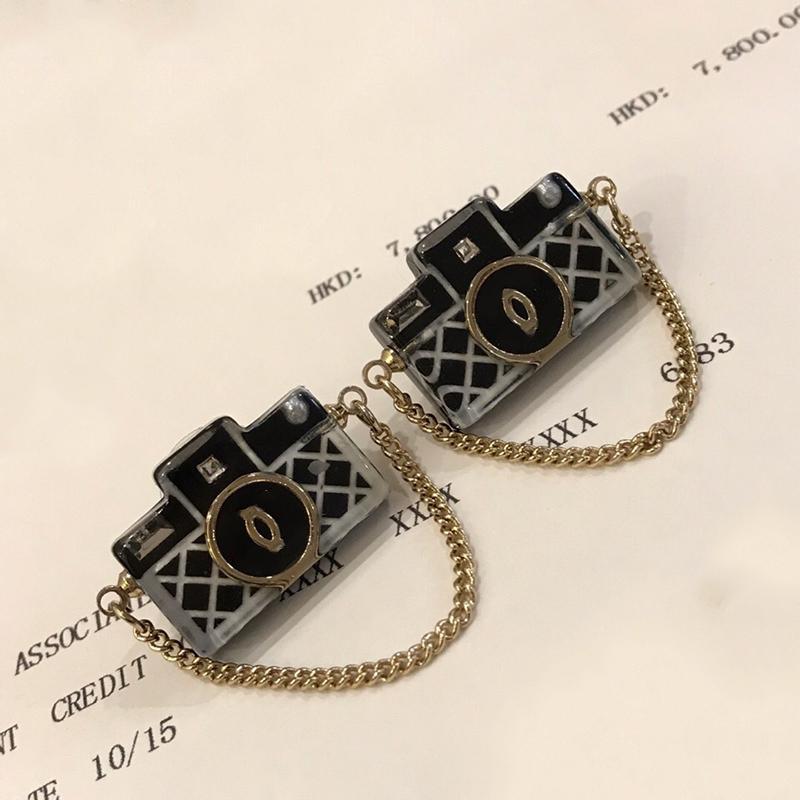 2019 New Hot Brand Fashion Jewelry For Women Jelly Bag Design Earrings Party Black Bag Earrings C Name Stamp Black Bag Earrings CX200706