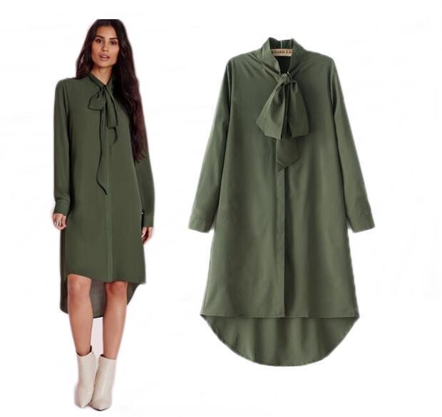 Vêtements ethniques 2021 Fashion Haute Qualité Islammisme Haut de la maille de mousseline de soie décontractée Chemise à manches longues Blouses Tops pour femmes musulmanes