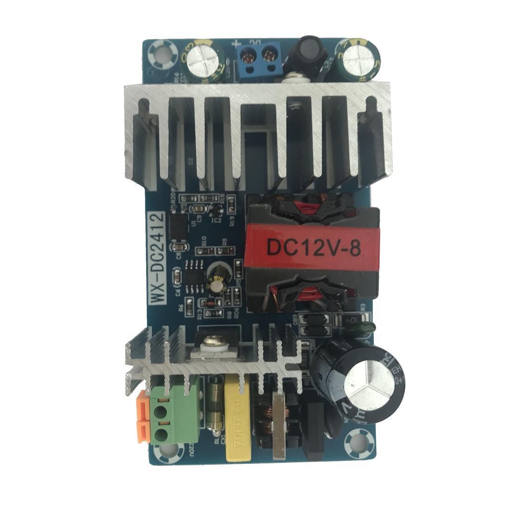AC DC Per 100W di alimentazione del modulo del convertitore CC 12V 8A Switching Power Supply Board