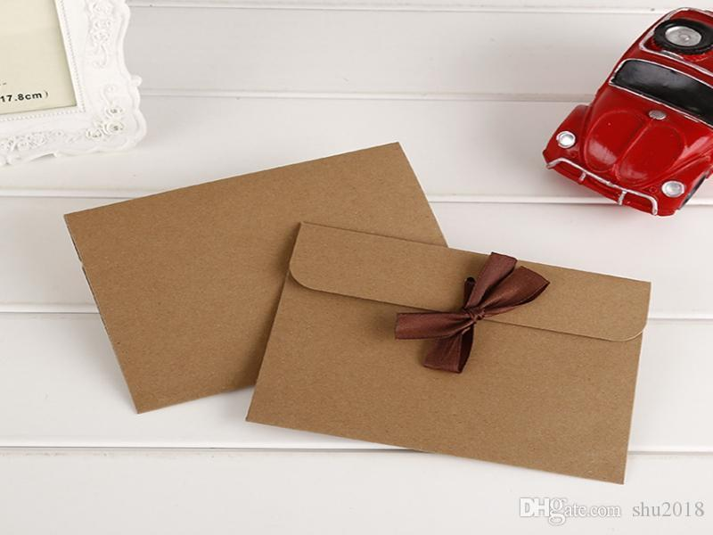100PCS kraft paper gift box, scarf packaging box, greeting card gift envelope box is easy to use.