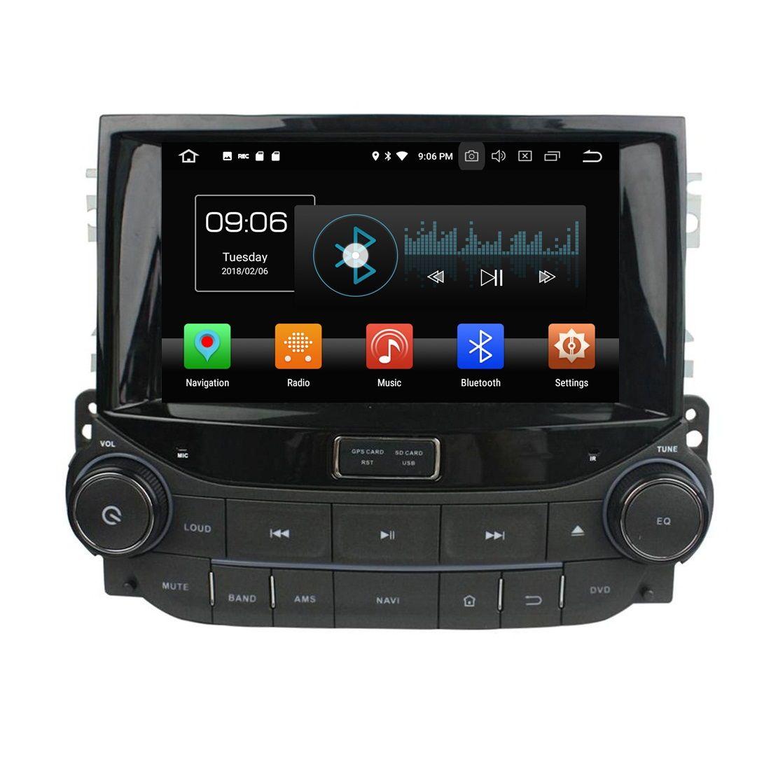 "4GB + 32GB IPS Octa Core 2 din 8 ""Android 8.0 Car DVD GPS, 시보레 말리부 2014 2015 RDS 라디오 오디오 Bluetooth WIFI USB"