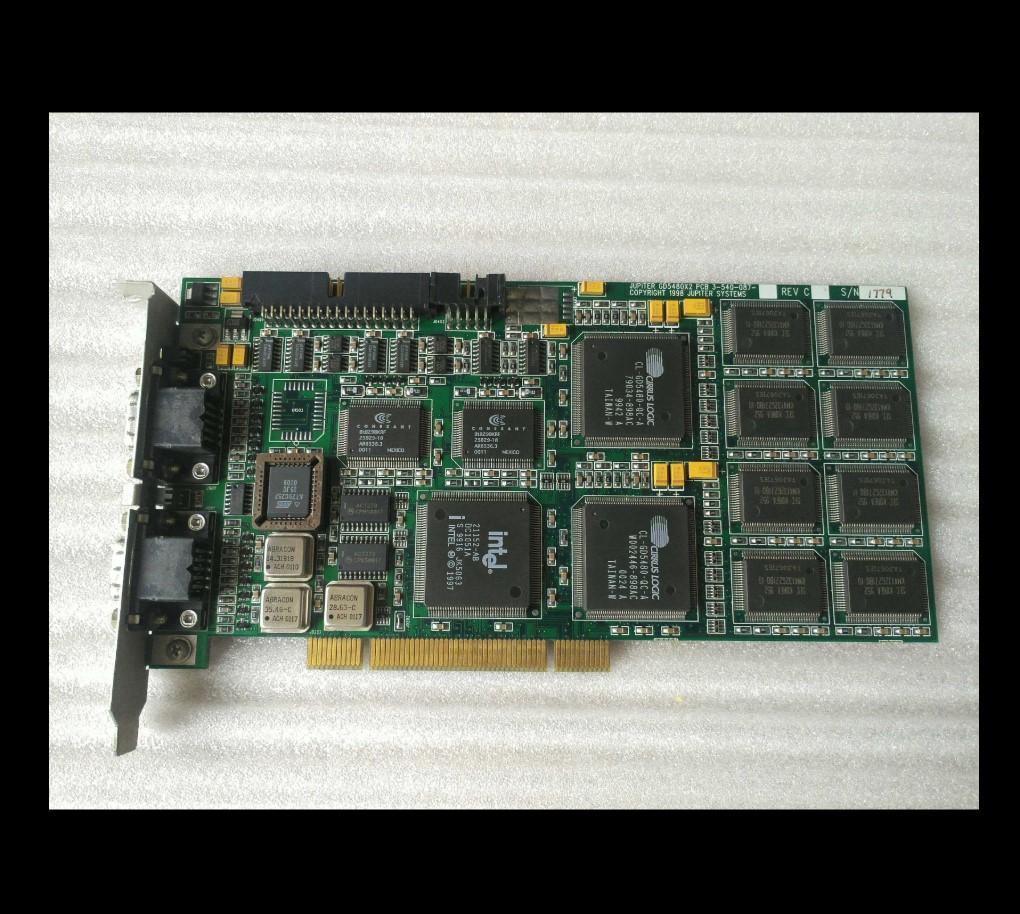 100% Probado obra perfecta para JUPITER GD5480X2 PCB 3-540-087 Copyright 1998