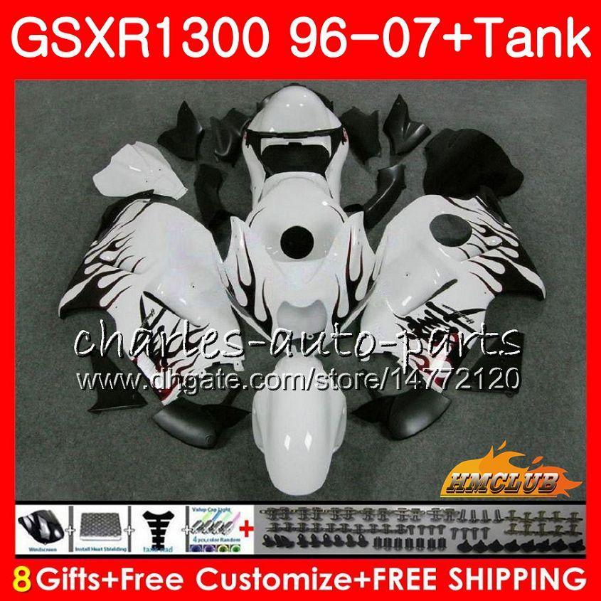 Suzuki Hayabusa GSXR 1300 GSXR1300 96 03 03 04 05 06 07 24HC.13 GSX R1300 1996 2002 2002 2002 2007 2006 2007フェアリングレッドフレームホット