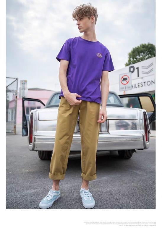 2020 Hommes TShirt Hommes Femmes de haute qualité à manches courtes Fashion Boy London Men Rupture de la lettre d'impression Tee 0,1025