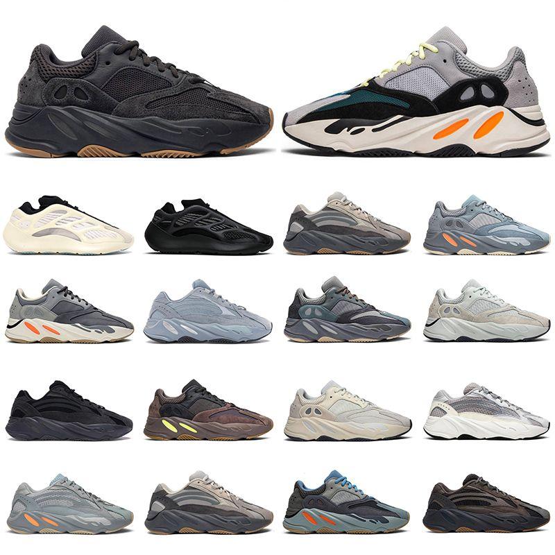 Kanye west uomo donna scarpe da corsa 700 riflettente Wave Runner Utility Nero Azael Alvah Vanta Hospital blu uomo sneaker moda sport sneakers