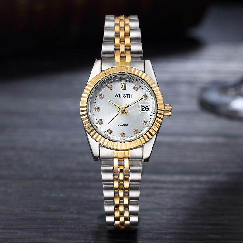Reloj Mujer 2018 석영 손목 시계 여성 시계 인기 브랜드 명품 시계 숙녀 시계 달력 Relogio Feminino Hodinky Box
