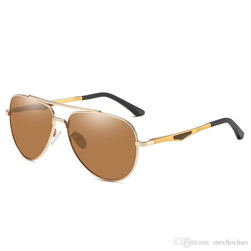 Gafas de sol polarizadas de marca para hombres Gafas de sol de conducción para hombres y mujeres Gafas de sol polarizadas para hombres y mujeres de Europa y América 19