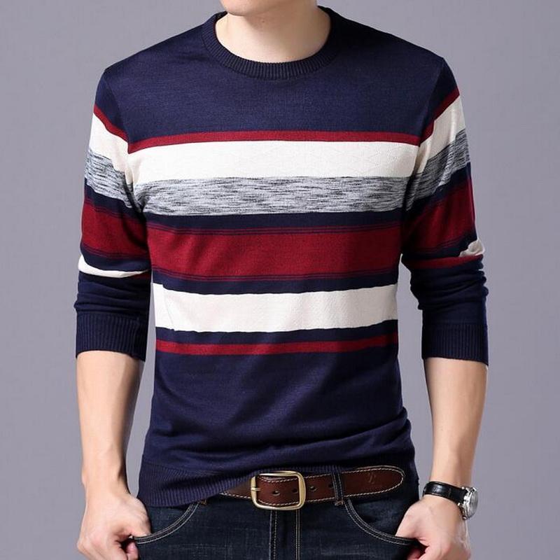 Мужские свитера шерстяные свитер плюс размер пуловеры кашемировые хлопковые мужские досуг комфортабельный цвет