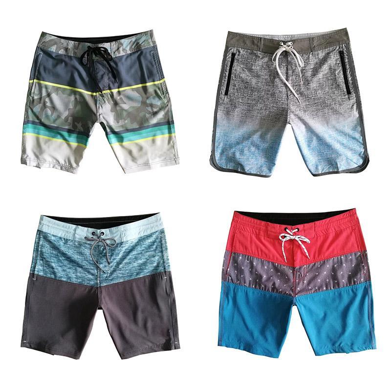 Maillots de bain Beach Waterproof Quick Dry Swim bermudas Surf Boardshorts été vrac Pantalons Courtes 16 Couleurs