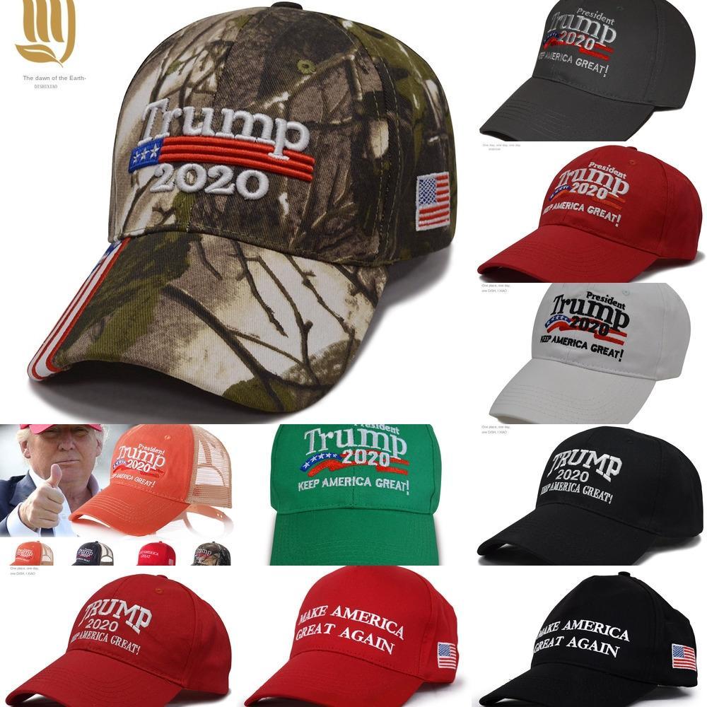 Ue6Ii 1pcShip Donald bonés 2020 tampão da bola bordado América Great Again chapéu faz manter a América Grande chapéu republicano Presidente Trump Trump