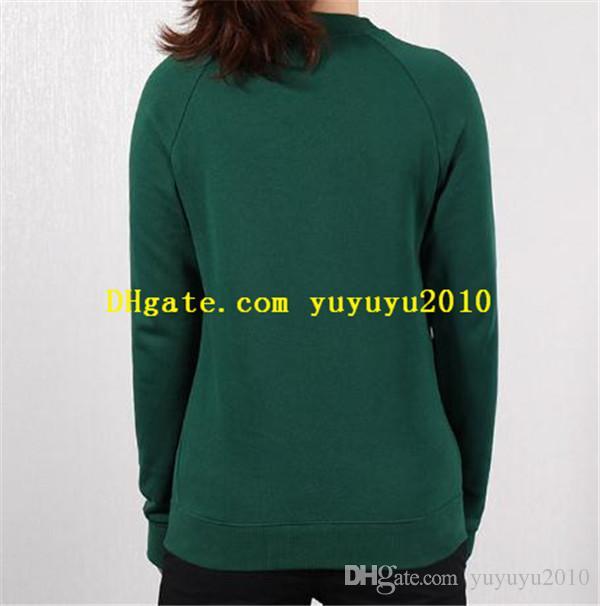 Yeni marka tasarımcısı kadın giyim kadın uzun kollu kadın Sweatershirts Sonbahar kadın LXWM061 için Kapüşonlular üst t gömlek yazdırmak eşofmanı