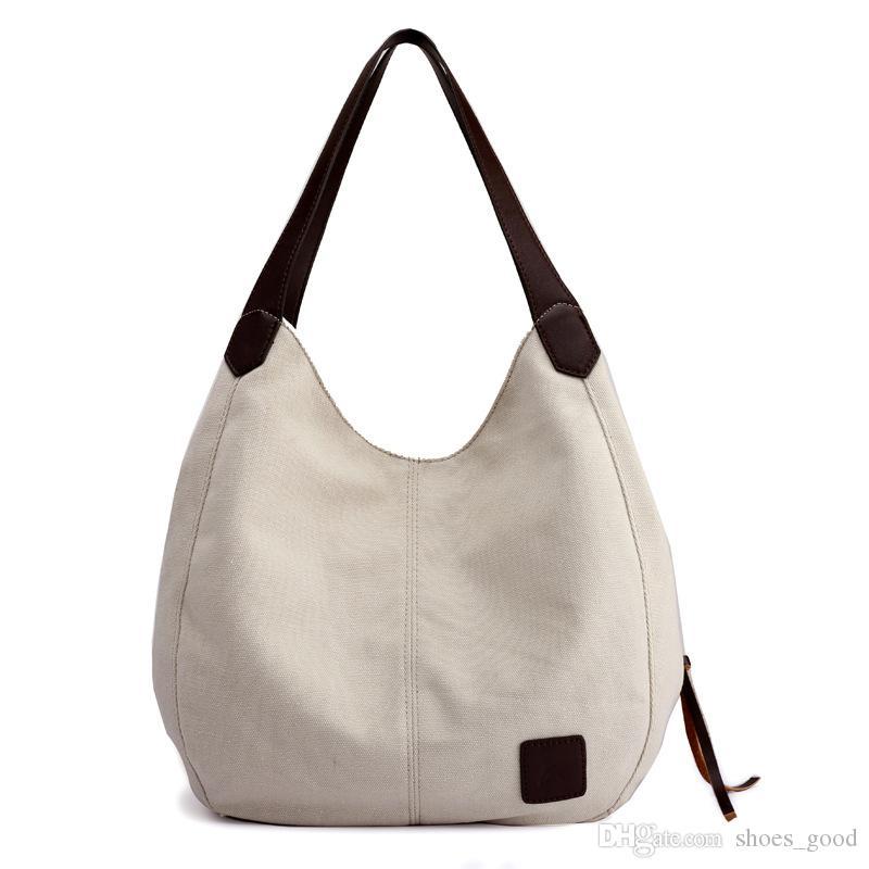 Últimas Moda Handbag alta qualidade lona Bolsas Mulheres Muito intercalar Casual sacola Bolsas de Ombro Lady Bolsas Bolsas Bolsa Totes