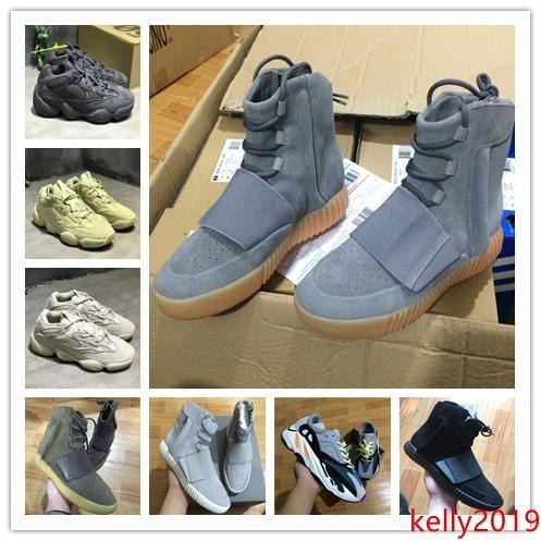 utilidad negro Blush Desert Rat 500 Súper Luna Amarillo 750 zapatillas de deporte grises de goma Zapatos, Nueva hombre y para mujer de los deportes, zapatillas de deporte zapatos para correr