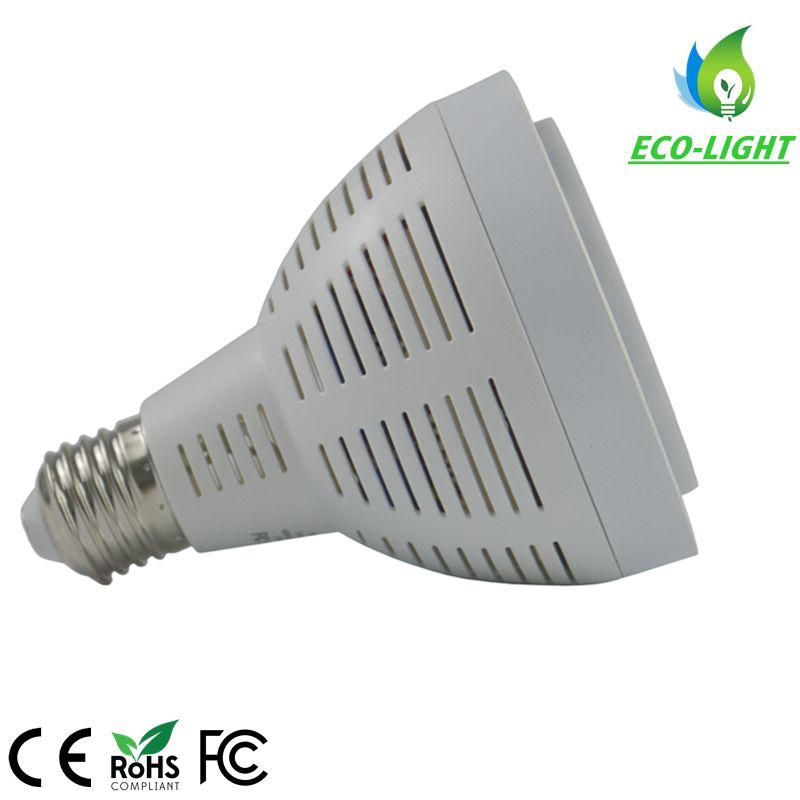LED 알루미늄 라디에이터와 E27 G12베이스와 오스람 칩 LED PAR30 LED 전구 35W 파 조명