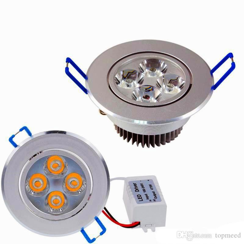Nouveau Downlights 9W 12W AC85V-265V LED Plafonnier Downlight Encastré LED Applique Murale Spot Light Avec Driver LED pour l'éclairage À La Maison