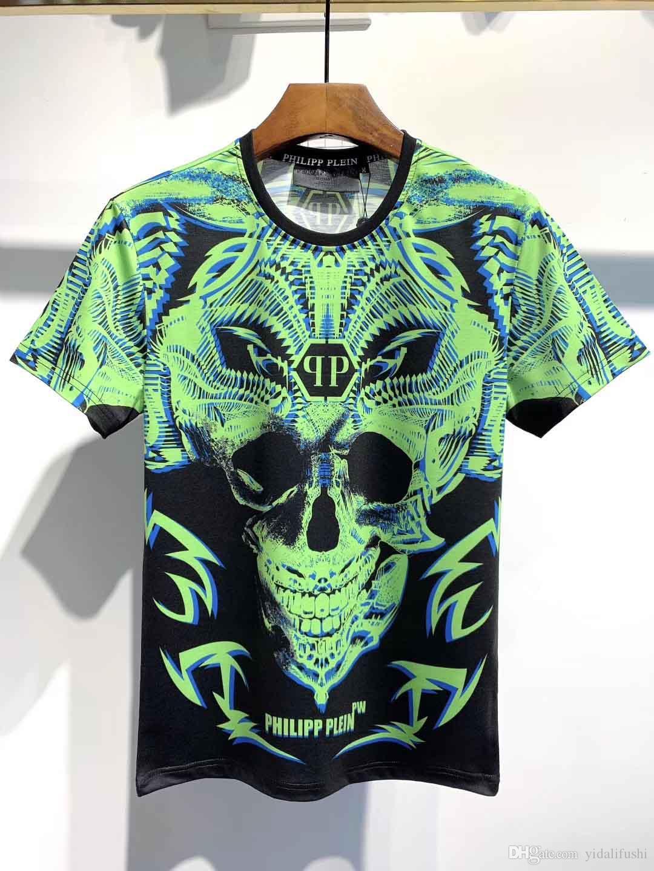 Talla de la camiseta camiseta de hip-hop forman la manga corta de los hombres de la camiseta de los hombres de las mujeres italianas M-3XL