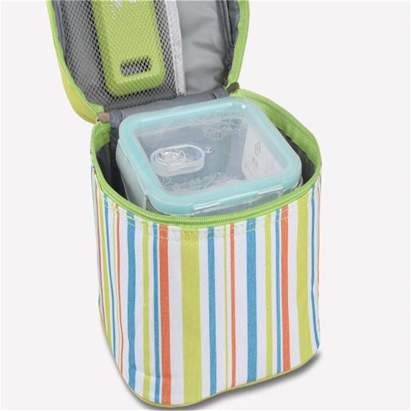 Isolé Déjeuner Sac Boîte à lunch Sac thermique en tissu Oxford Glacières Sacs de pique-nique pour les femmes