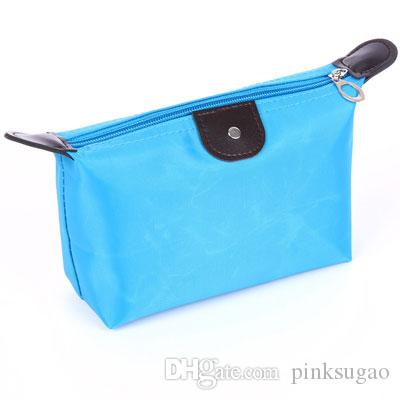 Pembe sugao makyaj çantası kozmetik çantası çok renkli makyaj çantası su geçirmez kılıfı mini tasarımcı makyaj çantaları seyahat çantaları tasarımcı tuvalet çantalar yeni