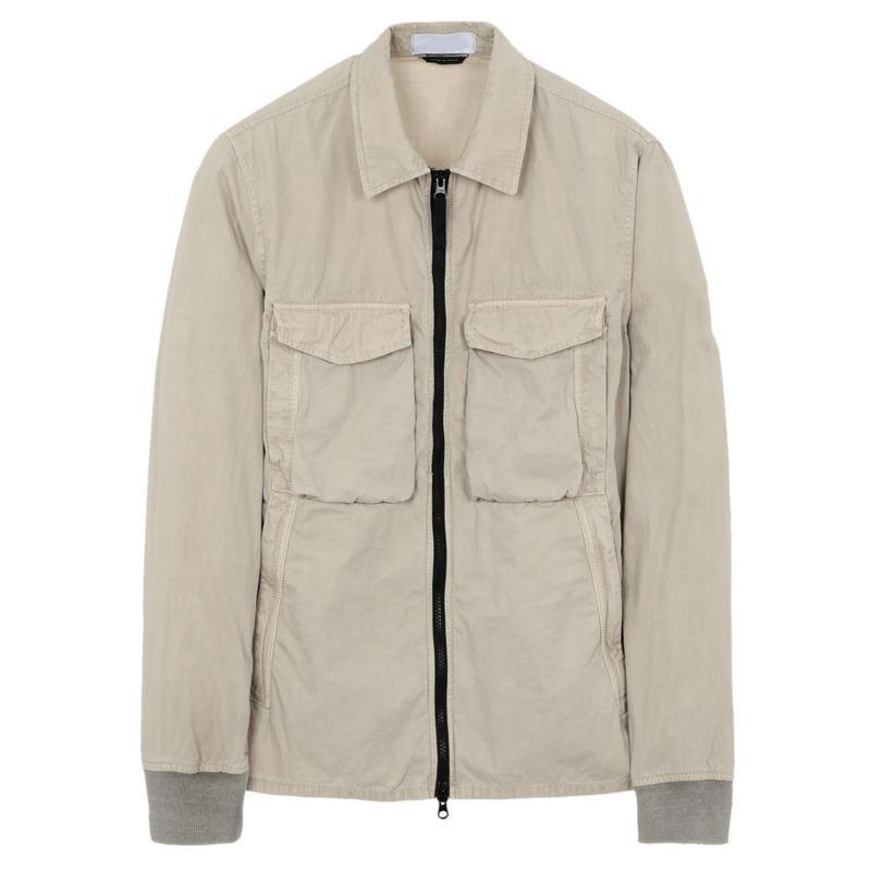 Lusso europeo 130WN overshirt VECCHIO Garment Dye Jacket Cotone Nylon allentati cappotto Coppie Donne del progettista del Mens Jackets HFXHJK076