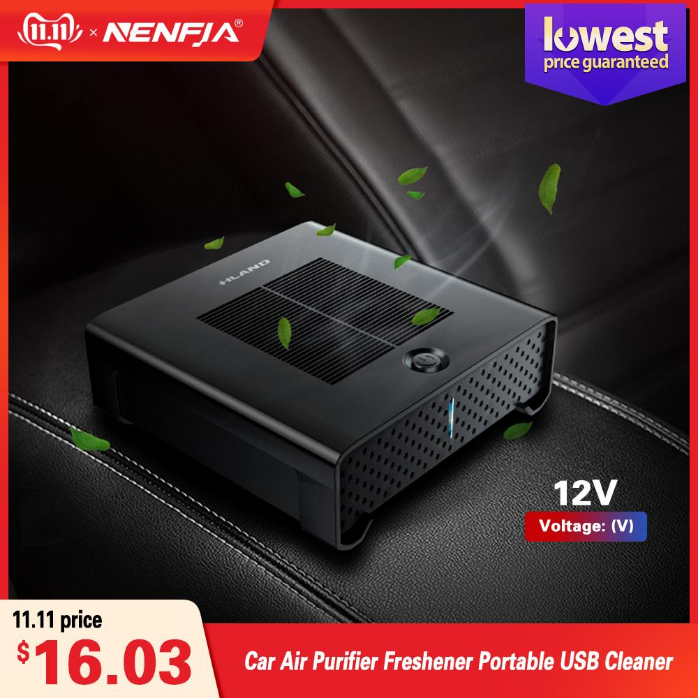 Carro purificador de ar Freshener Portable USB Cleaner Auto Fresh Air Anion Ionic Purifier Oxygen Bar Ozone ionizador Acessório Interior