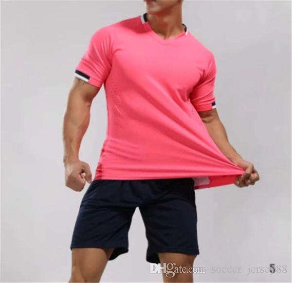 Neu kommen Blank Fußball Jersey # 1901-15-27 customize Heißer Verkaufs-hochwertige schnelltrocknende T-Shirt Uniformen Jersey Fußballhemden