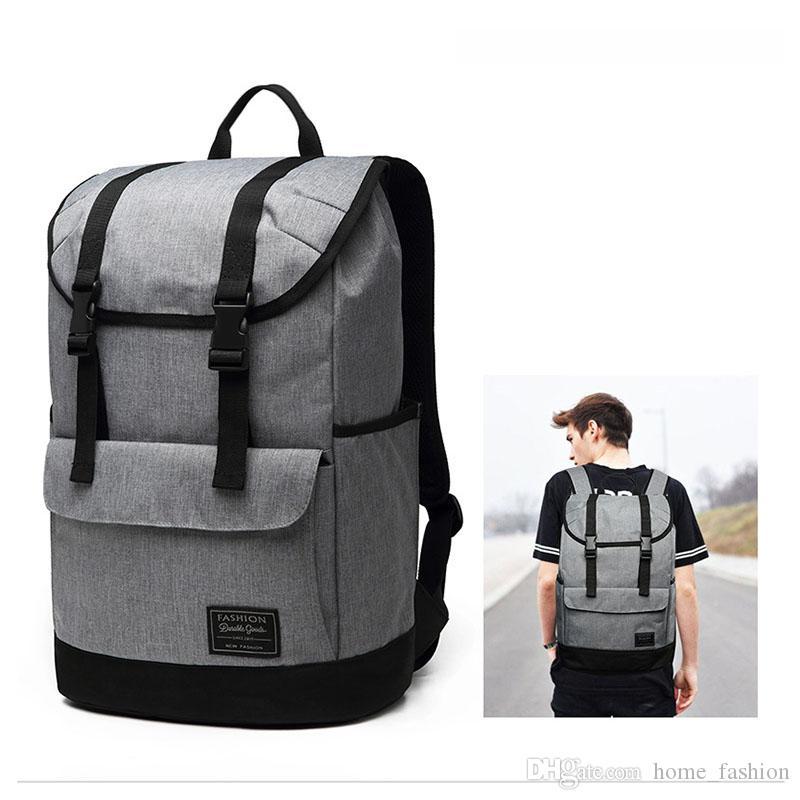 Multi-funzione Qualità Zaino Grigio Grigio 22 pollici Travel Black Backpack Soft Bag Borsa ad alta borsa Casual Knaptack Decorazione Pacchetto FHPKH