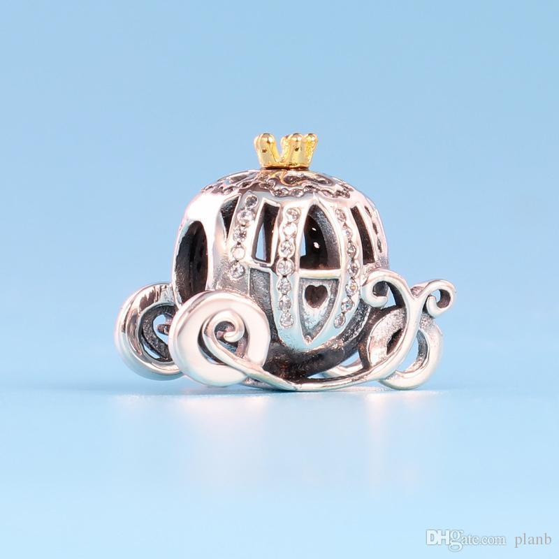 Casque de football 925 Sterling Silver Bracelet charm ou Collier Pendentif